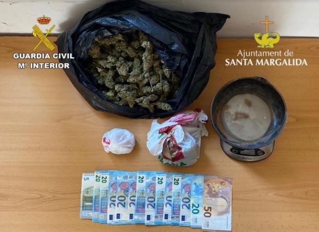 Detenido por tráfico de drogas tras un accidente de tráfico