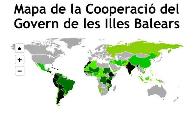 El Govern balear ha invertido 95,9 millones de euros en proyectos de Cooperación en los últimos veinte años