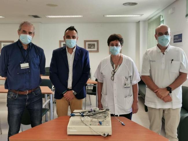 El Hospital de Manacor cede once electrocardiógrafos al IMAS