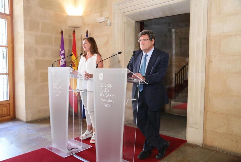 El ministro Escrivá se compromete a revalorar los mecanismos de protección de los ERTE en el sector turístico de las Islas