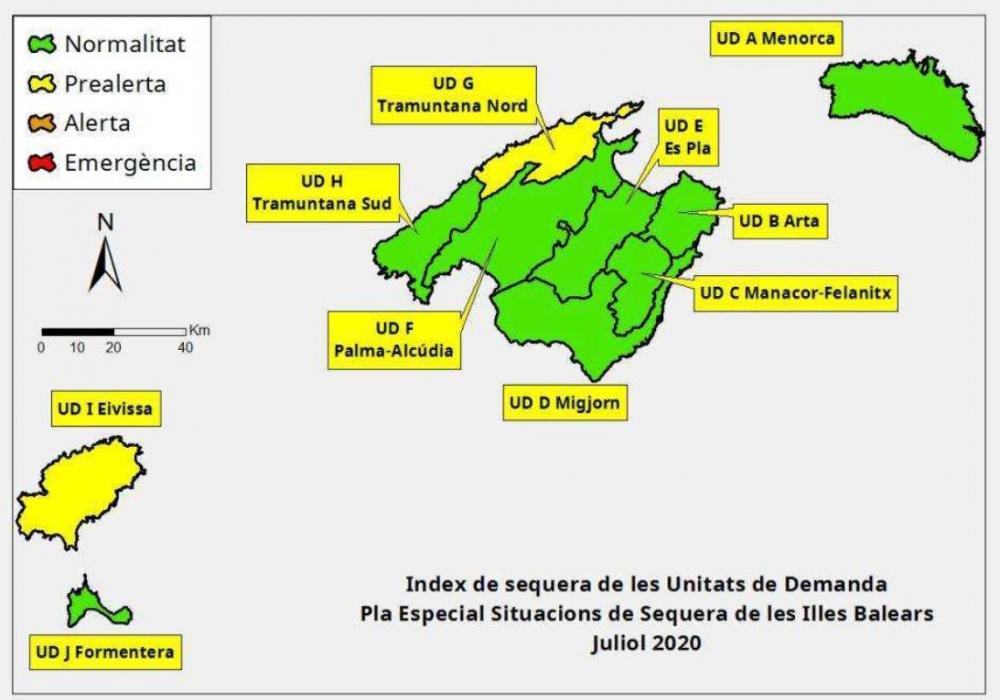 Las reservas hídricas de las Islas Baleares se sitúan en el 67%