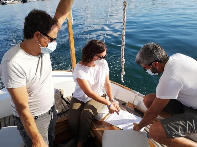 Medi Ambient consensúa políticas de conservación de la posidonia con el ayuntamiento de Felanitx y Salvem Portocolom