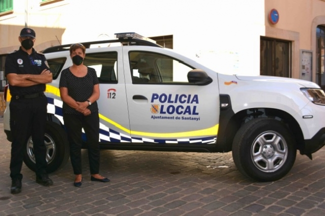 Nou vehicle per a la Policia Local de Santanyí