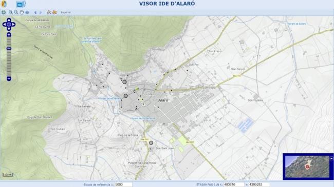 TIC Mallorca ha desarrollado un geoportal para dieciséis municipios de la isla