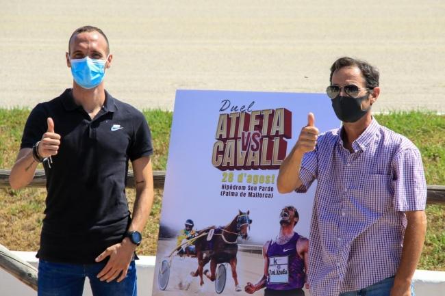 El hipódromo de Son Pardo acoge el duelo entre atleta y caballo