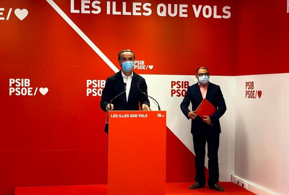 El PSIB-PSOE hace un llamamiento a la responsabilidad de los partidos y que hagan posible unos presupuestos justos
