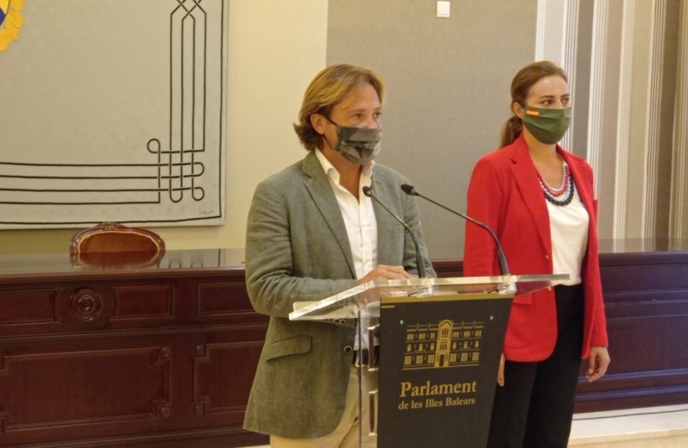 Jorge Campos: 'El discurso de la Sra. Armengol evidencia que es una presidenta acabada y agotada'