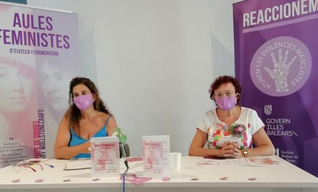 Las aulas feministas de Eivissa y Formentera nacen como espacio de reflexión sobre el feminismo y su poder transformador