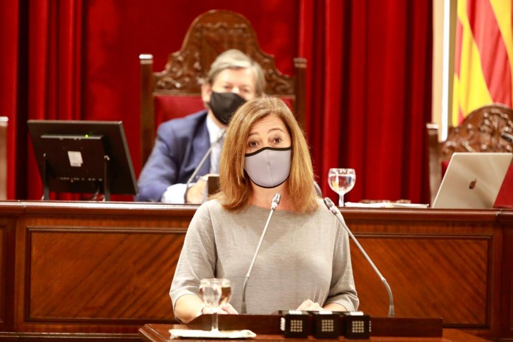 Armengol ha anunciado nuevas restricciones de la movilidad en  Palma y en Ibiza