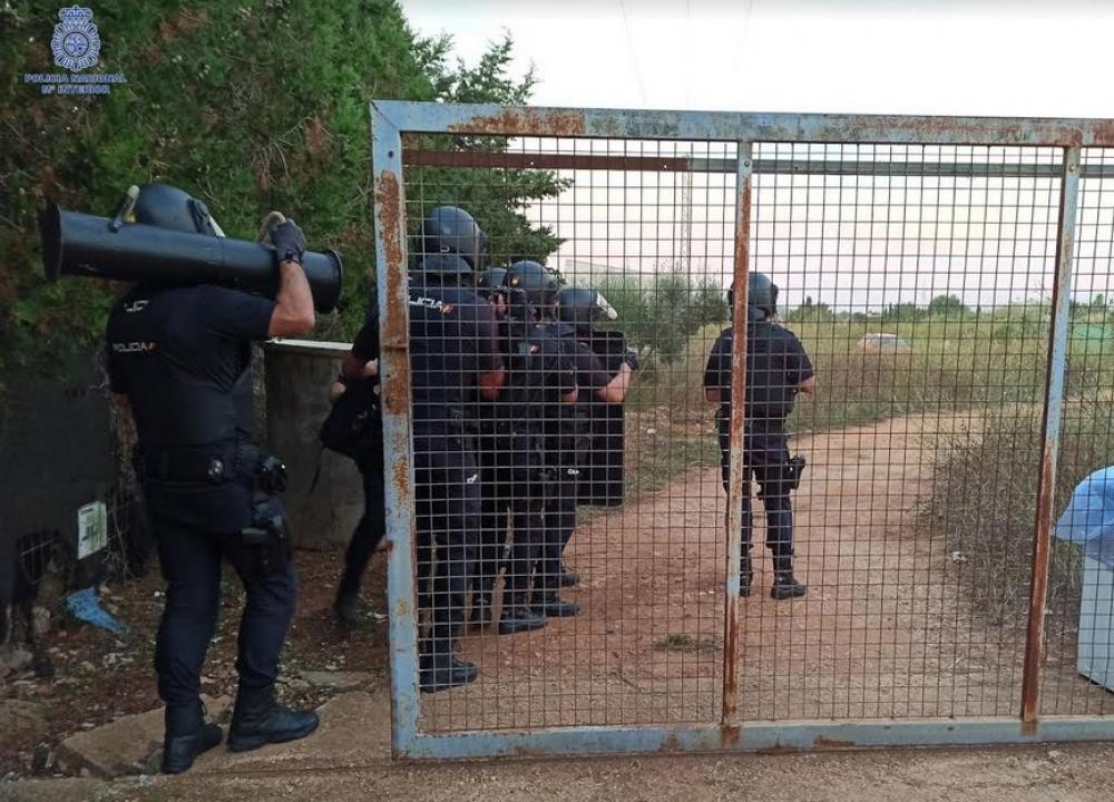 18 detenidos en Palma por la introducción y venta de cocaína