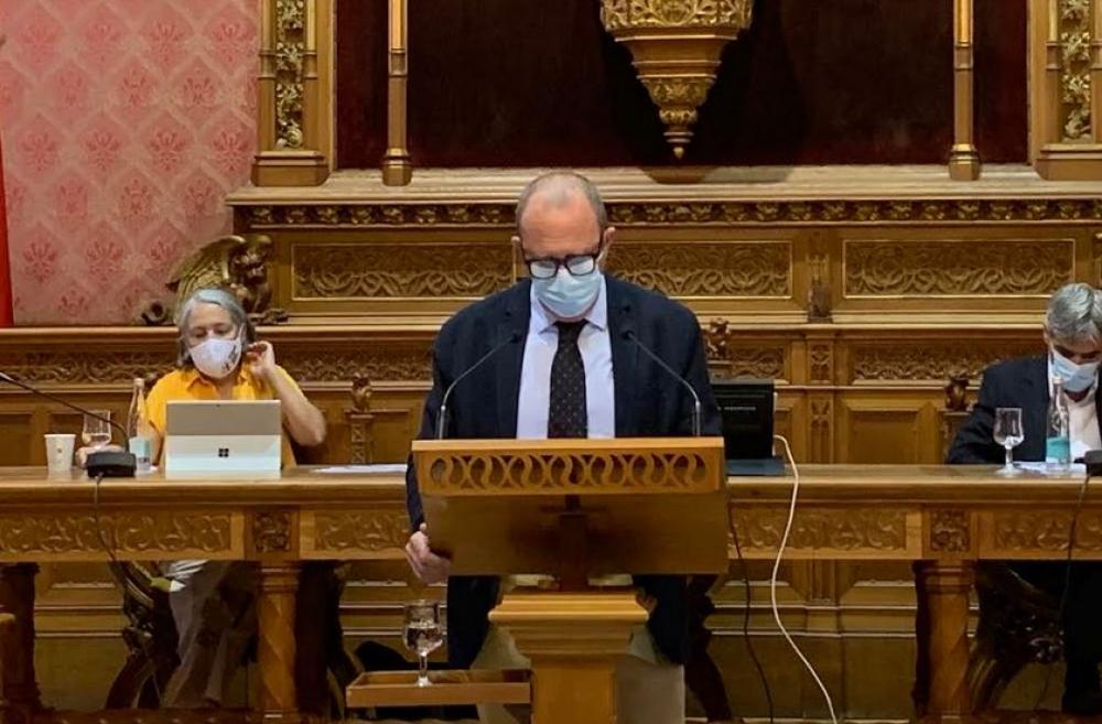 Alcover: 'La derecha ha tenido que reconocer que la única salida de la crisis es por la izquierda'