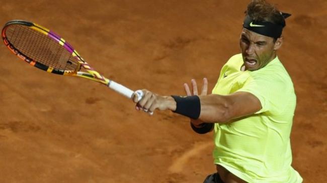 Nadal ya está en cuartos en el Masters 1.000 de Roma