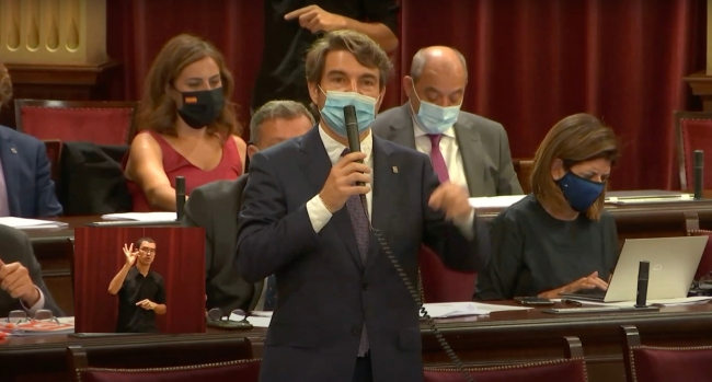 Cs Baleares exige a Armengol que abandone su política de subida de impuestos
