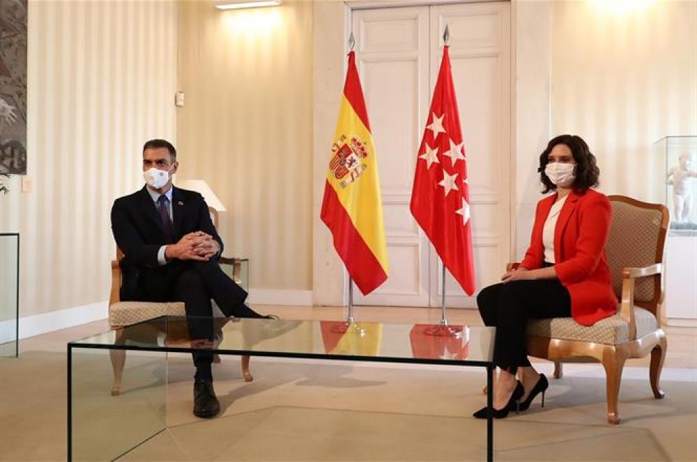 El Gobierno de España y la Comunidad de Madrid crean un grupo de trabajo específico contra la COVID-19