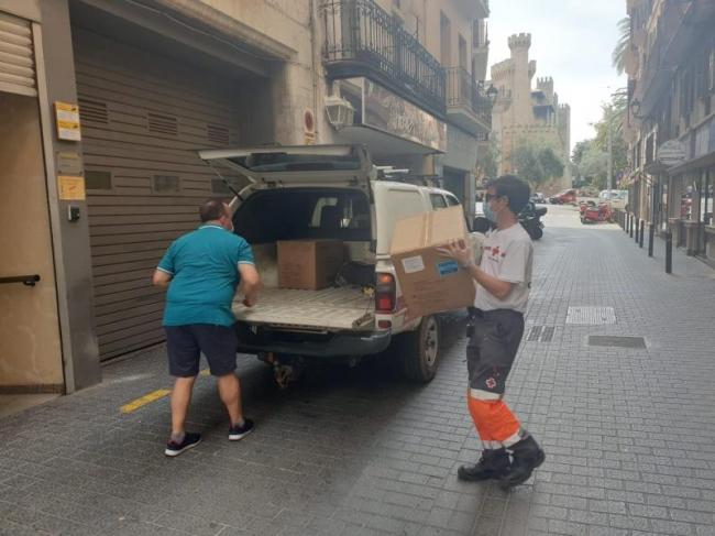 La Delegación del Gobierno en Illes Balears distribuye 366.000 mascarillas a los Ayuntamientos y entidades sociales