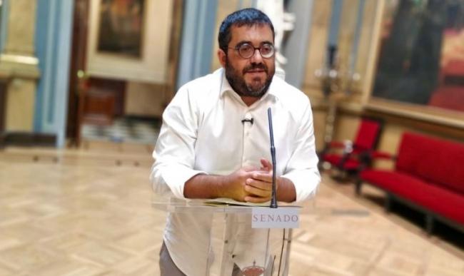 Vidal resalta la negativa del PSOE a abordar la insularidad en el Senado