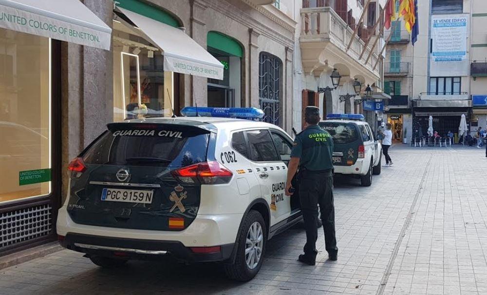 La Guardia Civil ha detenido a un joven por robo en una vivienda de Inca