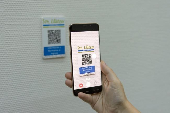 Los usuarios de Son Llàtzer podrán tener acceso a información práctica por medio de códigos QR
