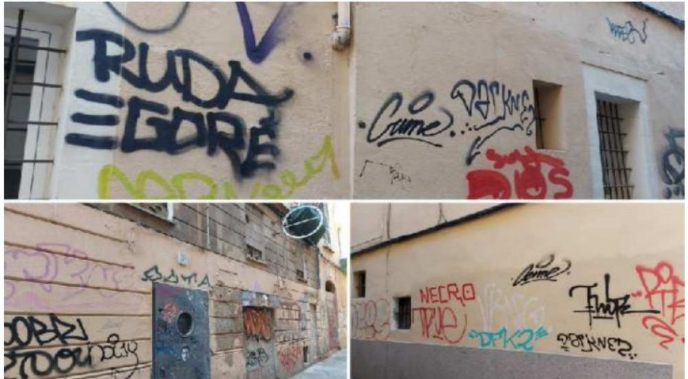 "El PP acusa a Hila de ""no tener un plan contra los grafitis"""