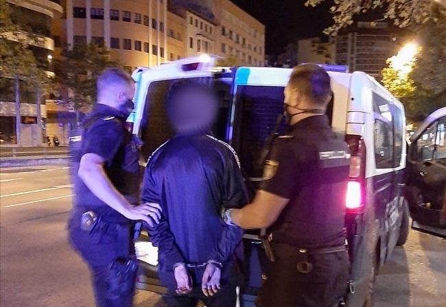 La Policía Nacional han detenido a un joven por el robo de una motocicleta en Palma