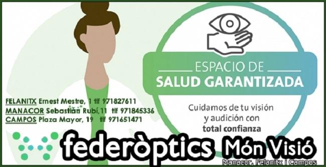 Federópticos Món Visió Manacor, Felanitx y Campos