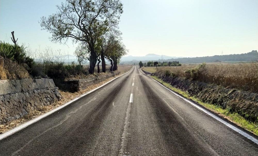 Reclaman al Consell de Mallorca la mejora y ampliación de la carretera de Sineu de acceso a Petra