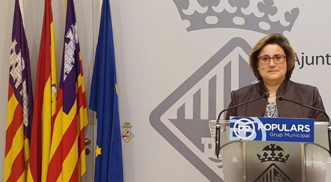 El PP de Palma vuelve a pedir el cese de Angélica Pastor tras la apertura de diligencias penales contra ella