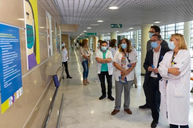 Son Espaes inaugura una exposición sobre los efectos de la pandemia en la salud mental de los niños y adolescentes