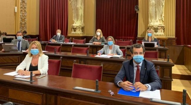 Company exige a Armengol que reclame la parte fiscal del REB