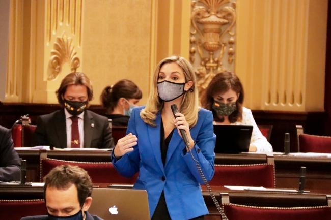 """Patricia Guasp: """"Armengol no puede mirar hacia otro lado mientras sus socios buscan debilitar al Estado"""""""