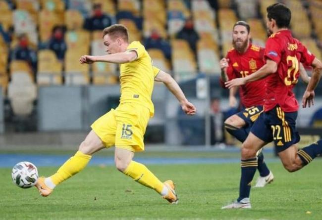 Ucrania vence a España 1-0