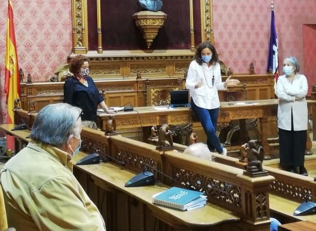 Reunión de la presidenta del Consell con las federaciones de personas mayores de Mallorca