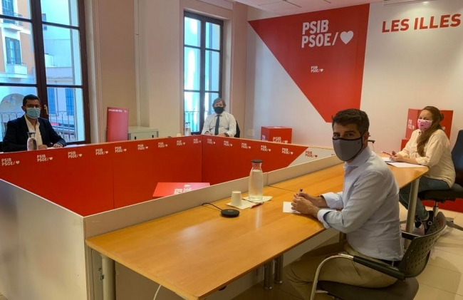 El PSIB-PSOE se reivindica como 'la única solución' ante un invierno marcado por la pandemia y una oposición instalada en la crítica destructiva