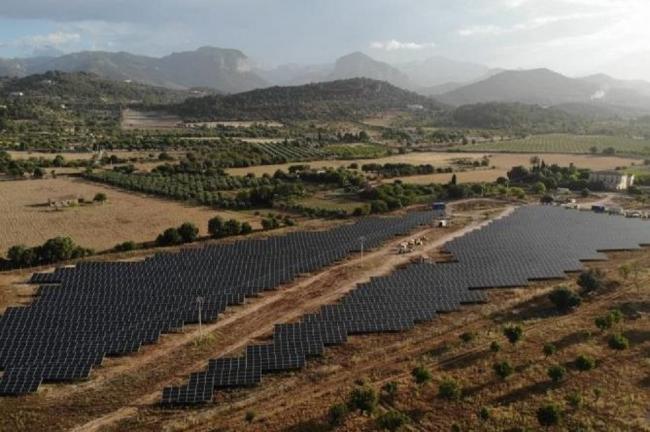 Se pone en servicio el primer parque fotovoltaico en las Illes Balears después de ocho años