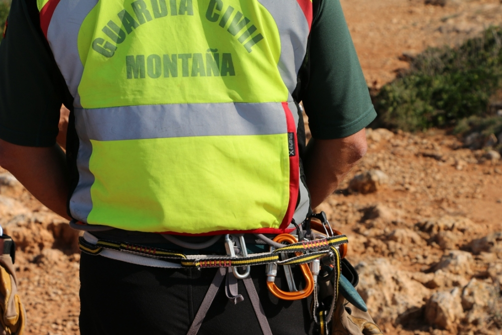 La Guardia Civil auxilia a dos senderistas extraviados en la zona de Puig de Roig en Escorca