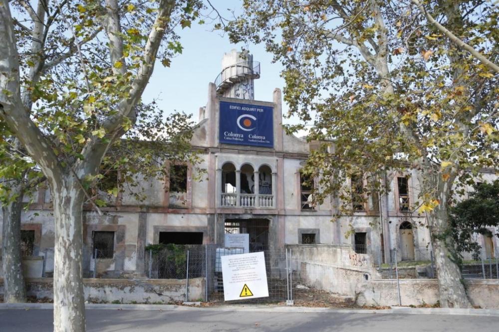 Proyecto de recuperación de la antigua fábrica textil pollencina de Can Morató