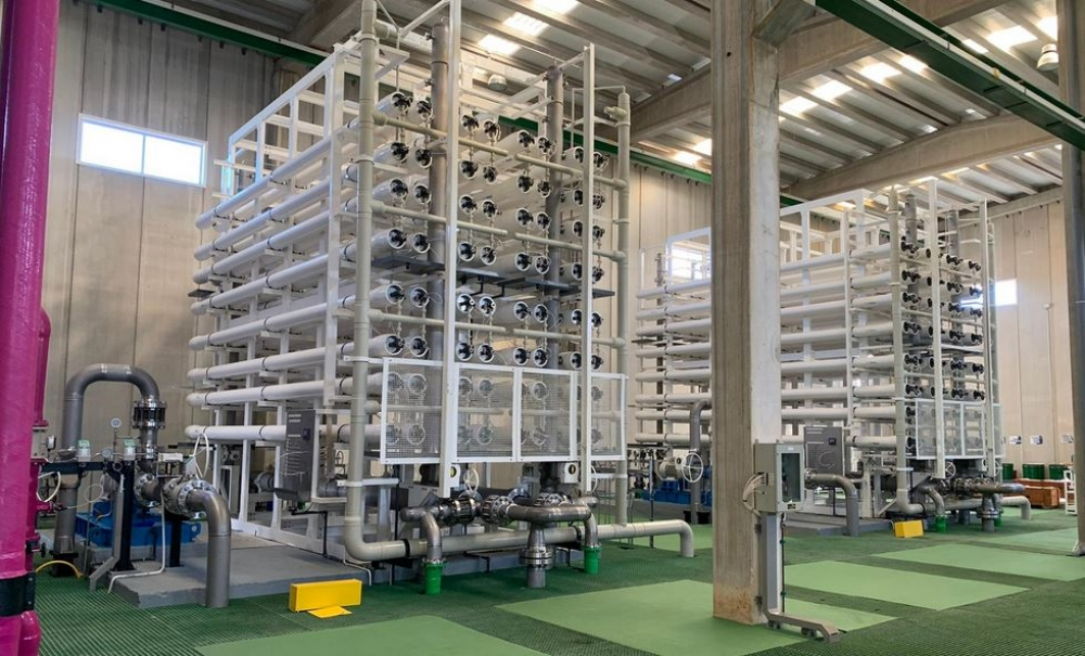 La desaladora de Ciutadella incrementa un 7,7% la producción de agua potable durante los meses de verano