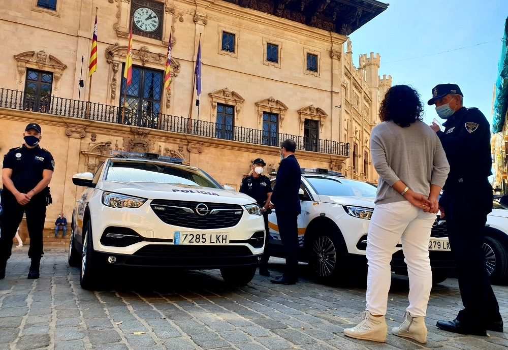 La Policia Local de Palma ya suma 20 vehículos patrulla nuevos
