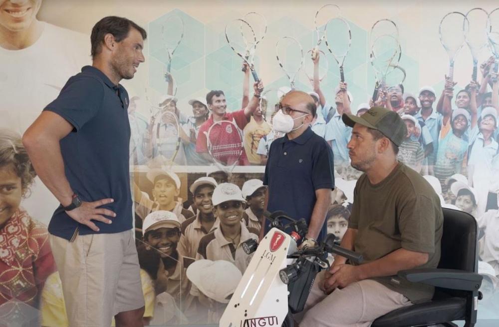 Rafa Nadal y su fundación, protagonistas este viernes del programa de TVE 'Donde viajan dos'