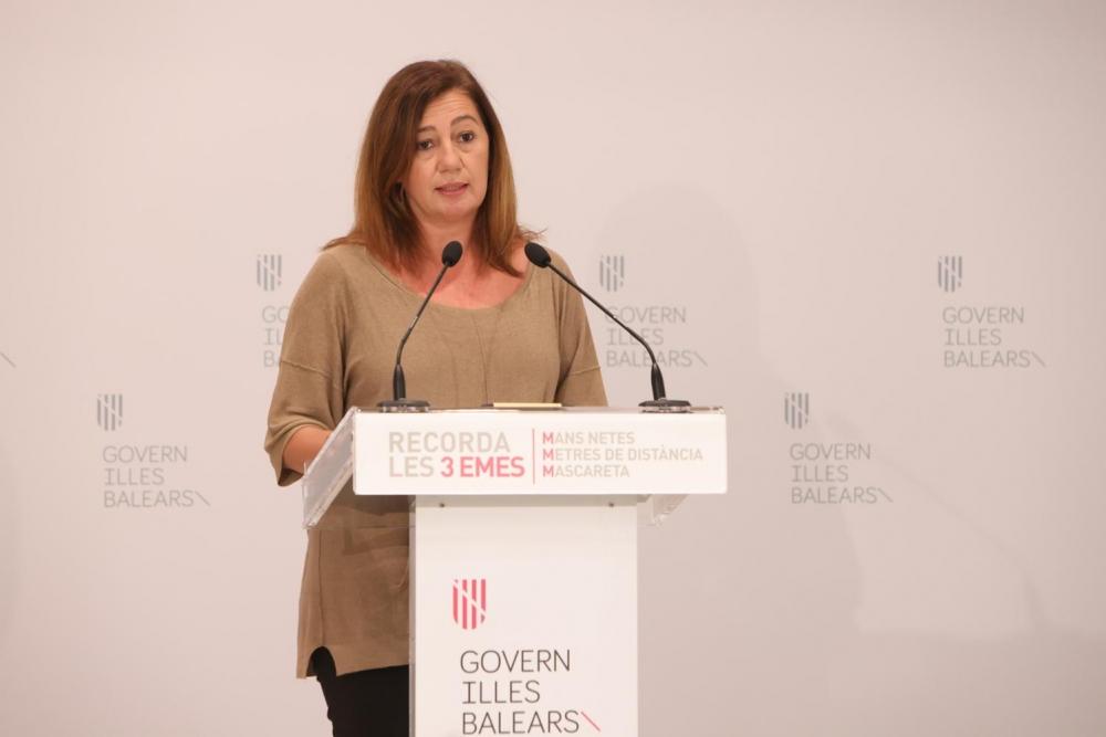 Baleares se acoge al estado de alarma y el confinamiento será de las 23 a las 6 horas
