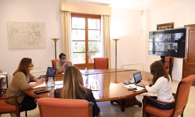 Armengol se reune con el comité para el seguimiento de la pandemia de la Covid-19