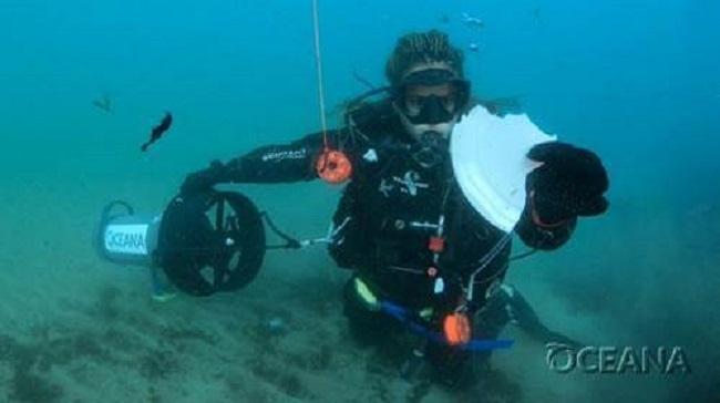 Oceana encuentra plásticos en todos los hábitats marinos analizados en su última expedición