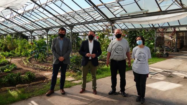 El Impuesto de Turismo Sostenible financia una planta de compostaje pionera en las Illes Balears en la generación de biocarbón