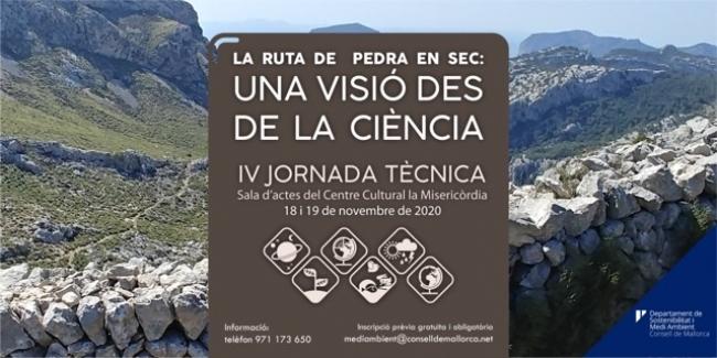 Organizan la IV Jornada Técnica 'La Ruta de Pedra en Sec: una visión desde la ciencia»