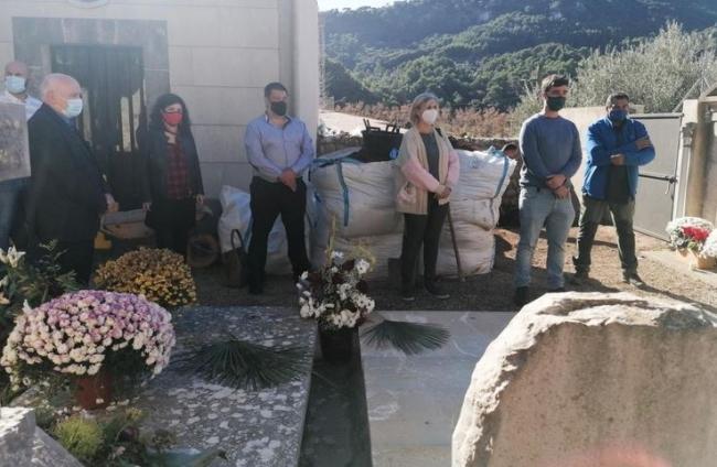 Se inician las excavaciones de una posible fosa en el cementerio de Valldemossa
