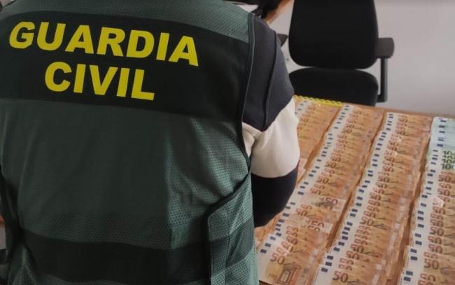 La Guardia Civil detiene al autor del robo de 10.000 € en una nave industrial en Sineu