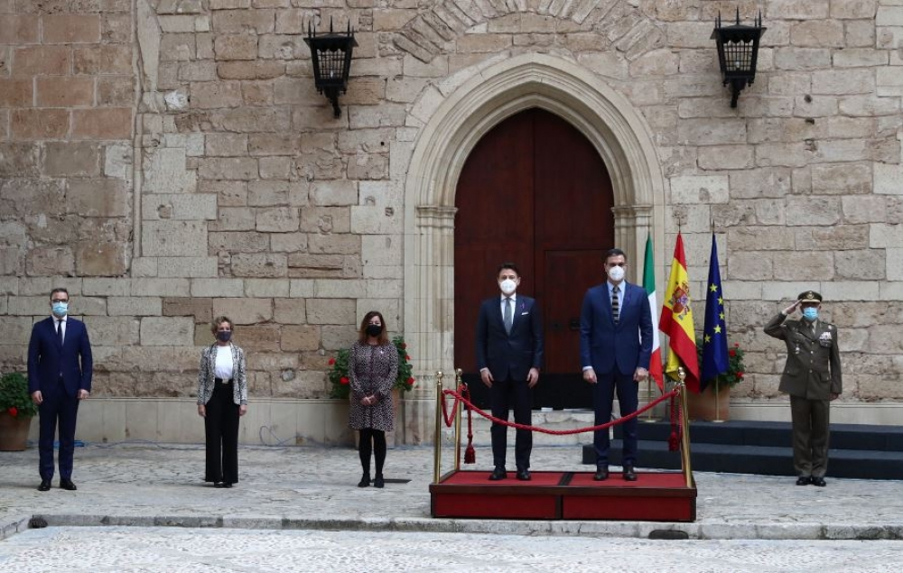 Cumbre hispano-italiana en Palma de Mallorca