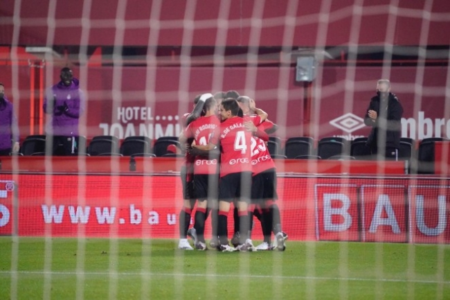 El RCD Mallorca gana a la UD Logroñés (4-0)
