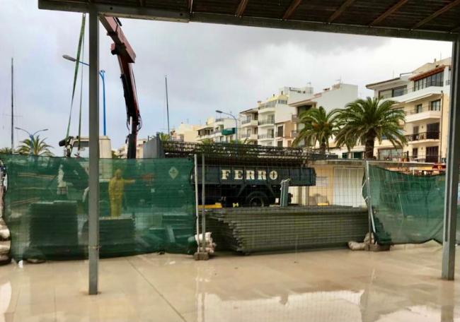 El Ayuntamiento de Pollença inicia las obras de la nueva oficina de Turismo en el Puerto