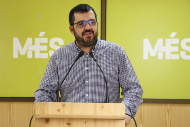 Vicenç Vidal: 'Los problemas de los municipios y la ciudadanía de las Islas Baleares son de segunda categoría para el gobierno español'